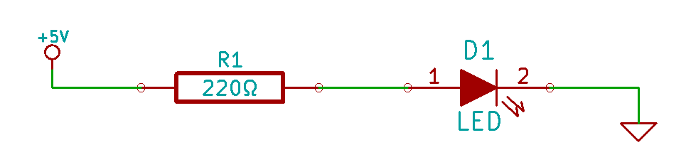 Basic LED Circuit