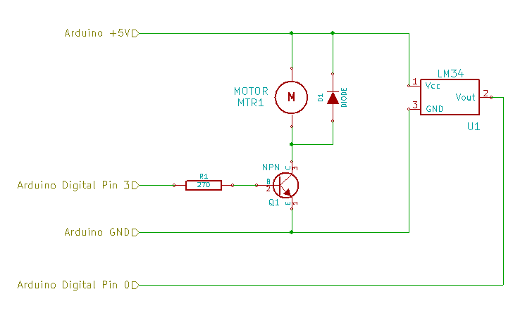 DIY Optoisolator Motor Schematic 01