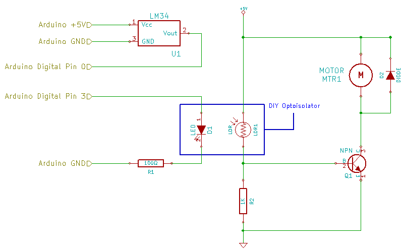 DIY Optoisolator Motor Schematic 03