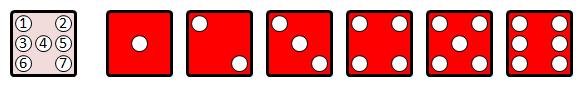 Electronic D6 Pattern