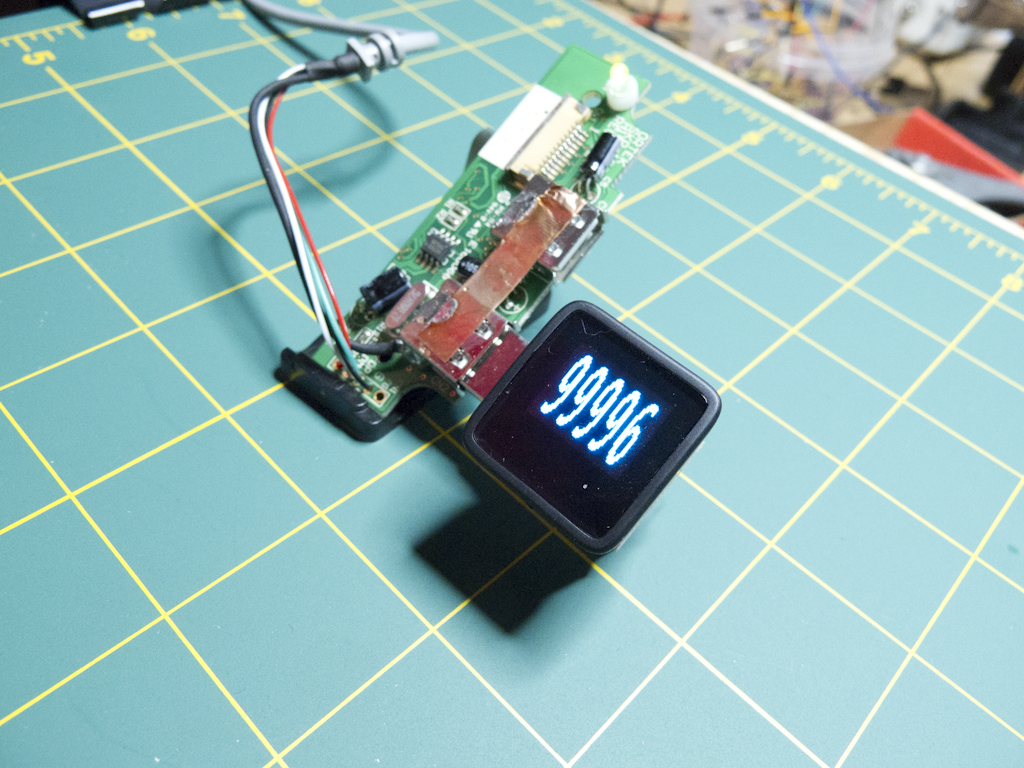 MicroView USB Connected and Running