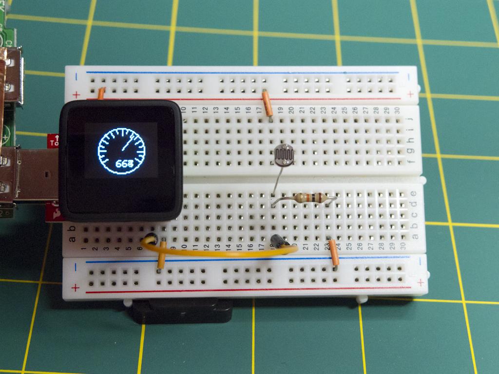 MicroView Brightness Meter