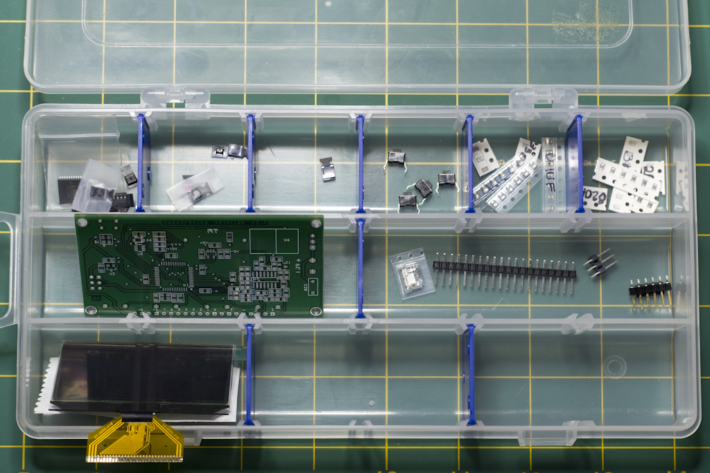 Xminilab Parts Organized