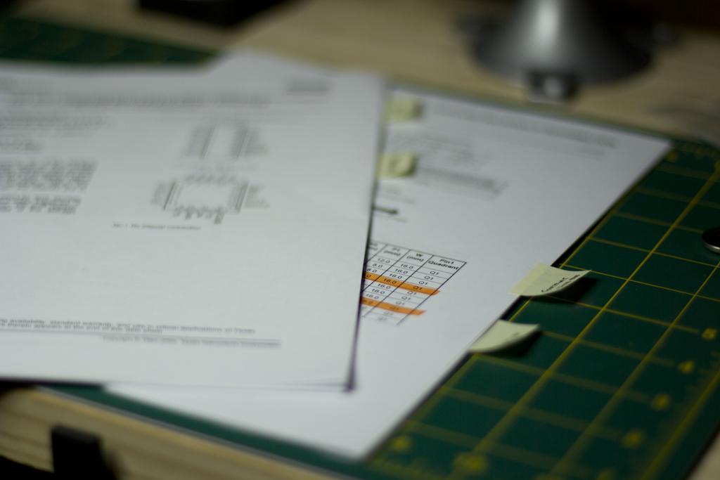 Marking Up The Datasheet