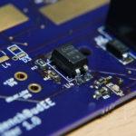 Custom Board: Soldering job on the opto