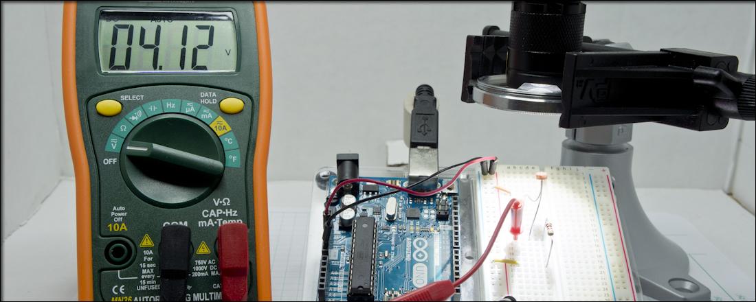 Measuring a Photoresistor Circuit - Rheingold HeavyRheingold Heavy