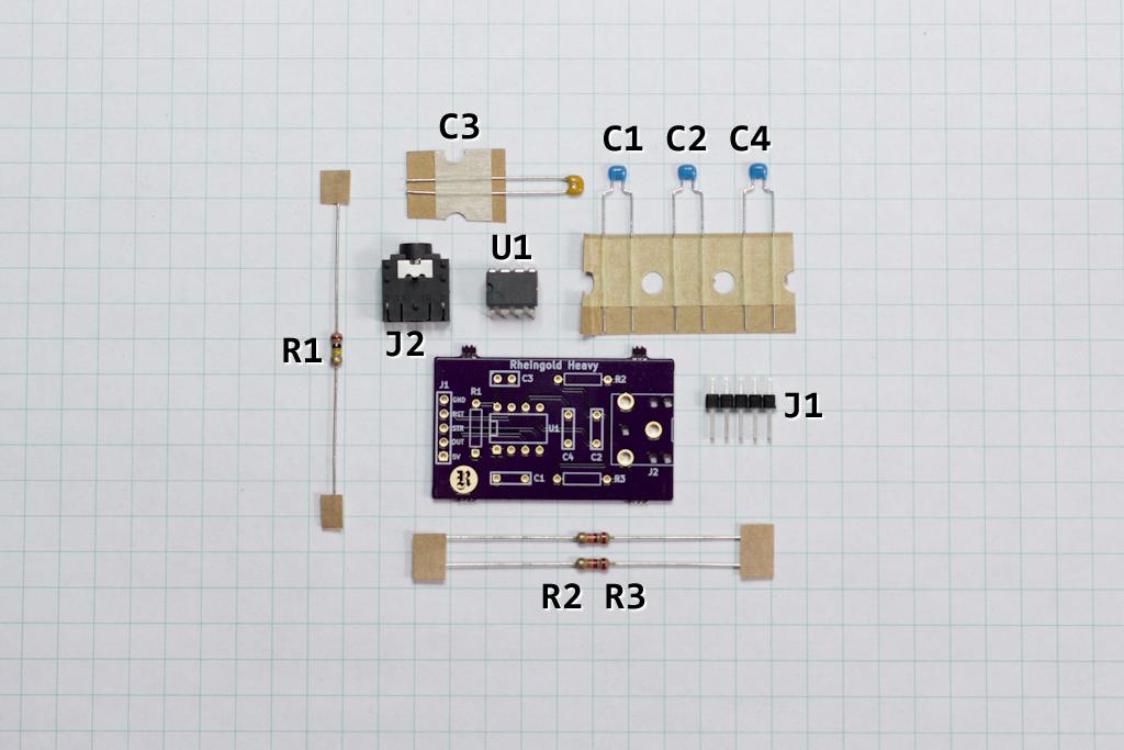 MSGEQ7 Parts List