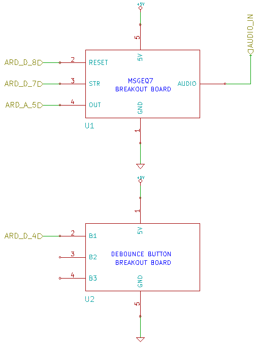 MSGEQ7 Decay Rate Schematic