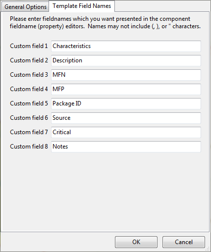 Component Custom Field Mapping