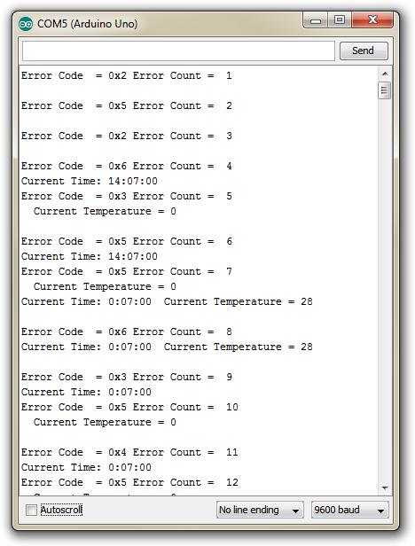 I2C Errors