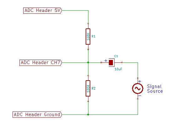 Basic Signal Biasing Schematic