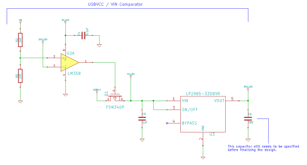 Arduino from scratch part selecting comparator