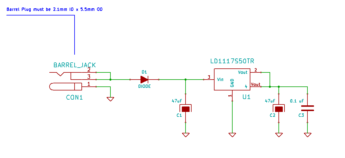 Arduino From Scratch Part 2 Voltage Regulator Subsystem on overvoltage protection circuit