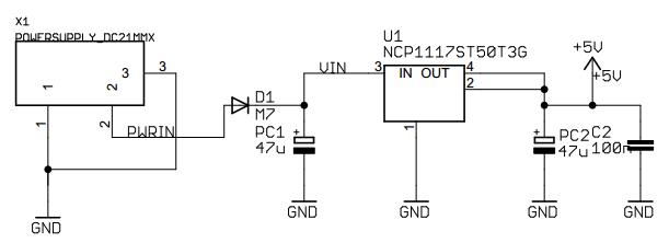 Arduino UNO R3 LDO Subsystem