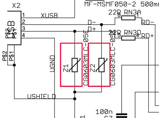 Arduino UNO PTC Fuses