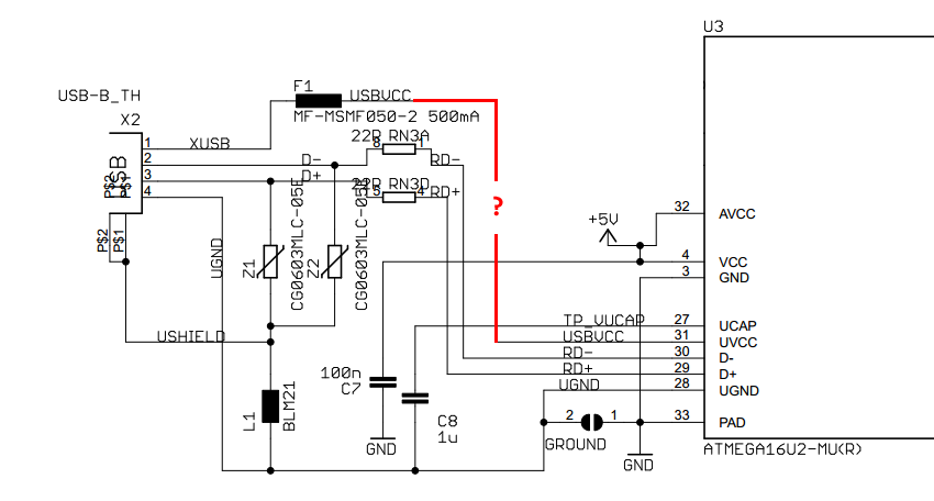 Arduino UNO R3 USB Connection