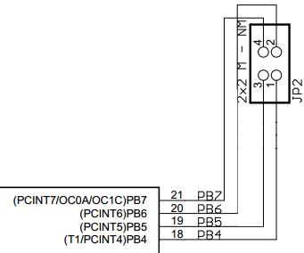 Arduino UNO ATMEGA16U2 JP2