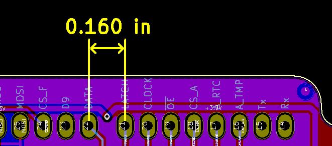 Arduino Uno Pin Header Spacing