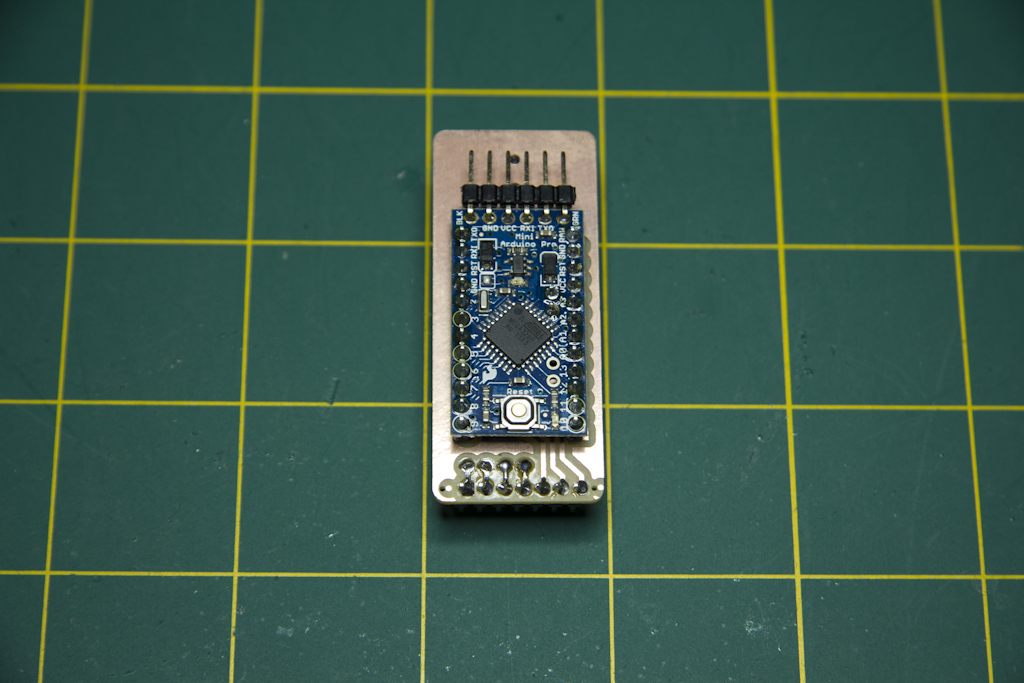 MSGEQ7 Controller Board Top